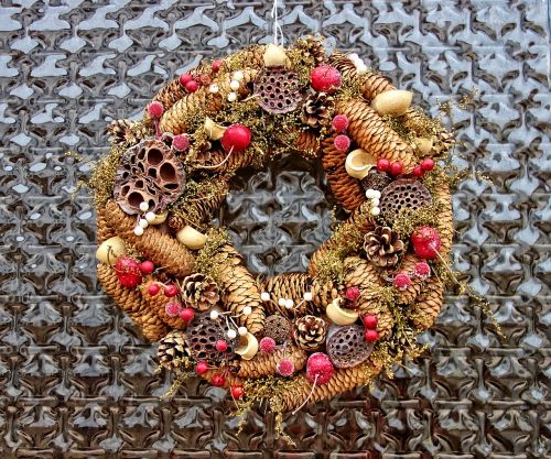 wreath autumn wreath fall
