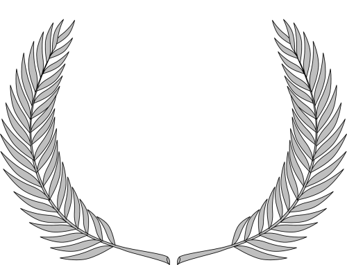 wreath olive branch accolade