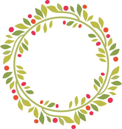 wreath christmas green