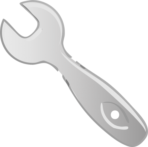 wrench isolated repair