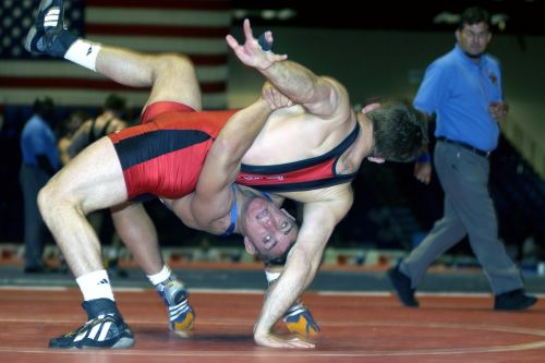 wrestlers college males
