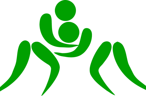 wrestling pictogram sports