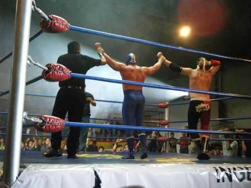 wrestling mexico blue demon