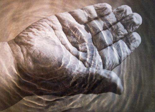 wrinkles hand