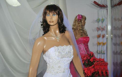 riešas,lėlės veidas,manikino veidas,Manekenas,sniego senis,Vestuvės,vestuvinė suknelė,perukas