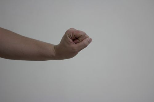 Wrist Extension Clenched Fist