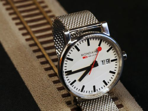 wrist watch sbb cff