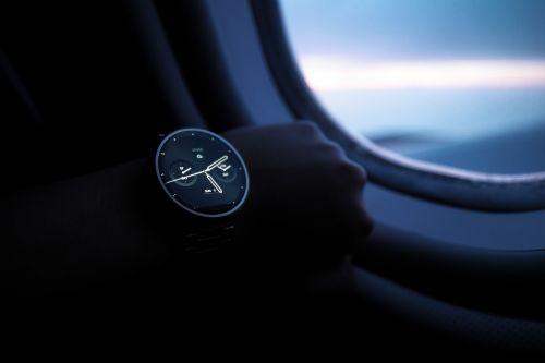 wristwatch technology time