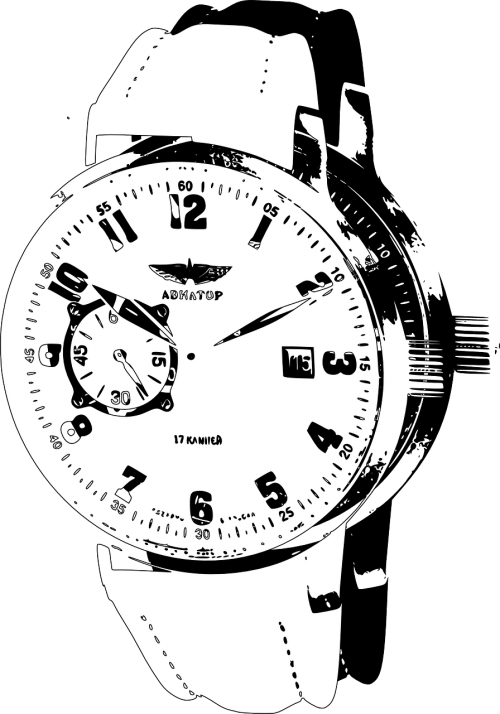 wristwatch watch clock