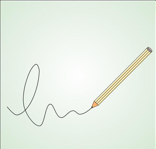 write pencil writer
