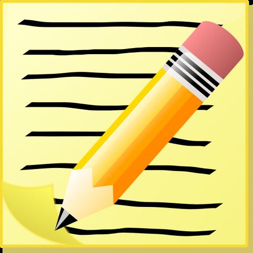 write note memo