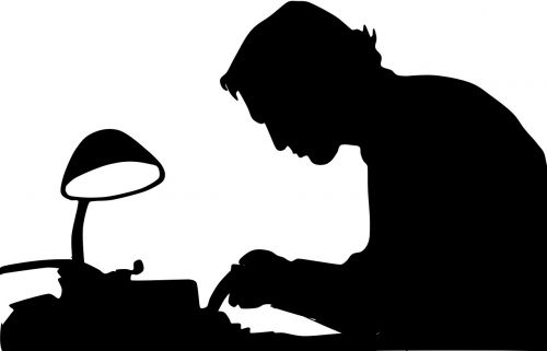writer shadow man