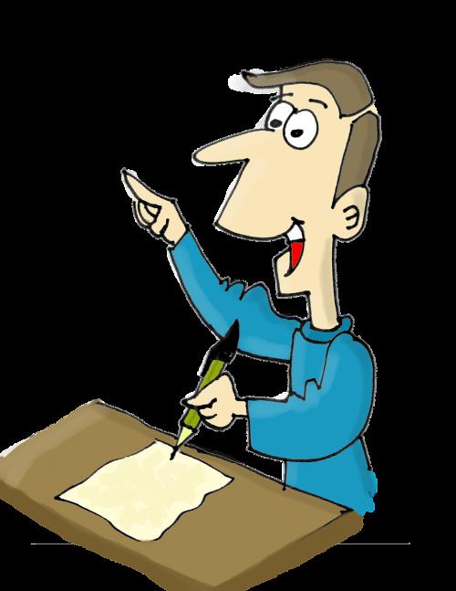 writer to write notebook