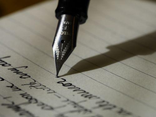 writing write fountain pen