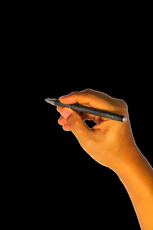writing hand writing hand