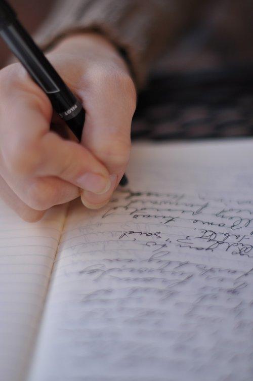 writing  studying  write