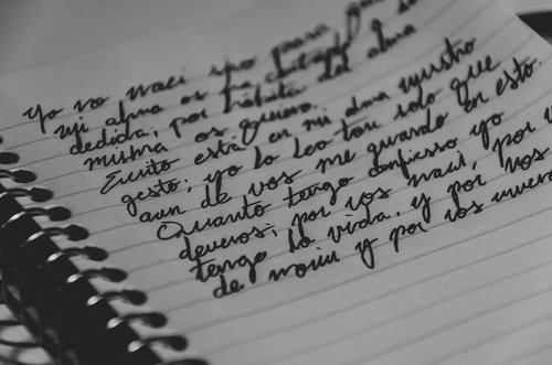 writing  spanish  cursive