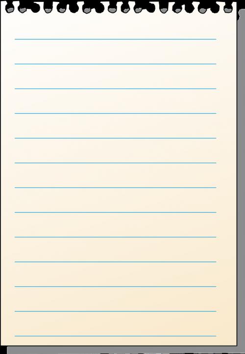writing block perforated sheet