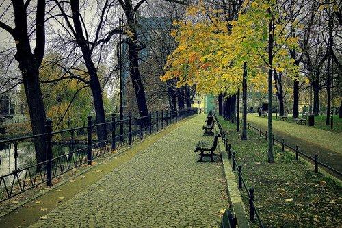 wrocław  poland  autumn