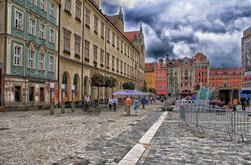 wrocław wrocław market plate market