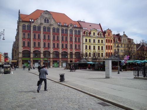 wrocław the market little