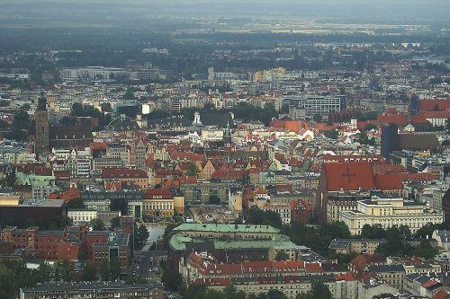 wrocław city houses