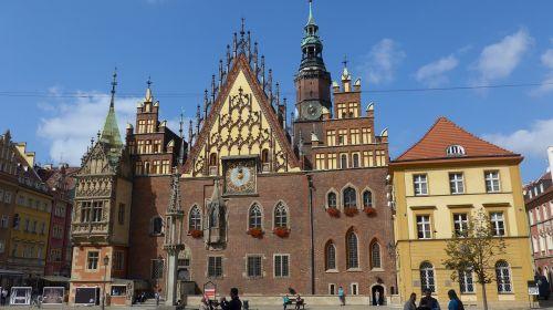 wroclaw poland town hall