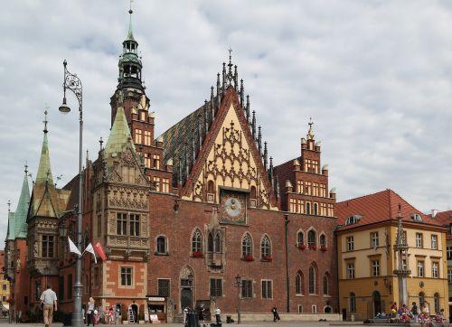 wroclaw rynek town hall