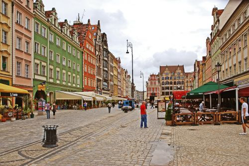 wroclaw old town poland wrocław