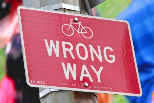 wrong way wrong way