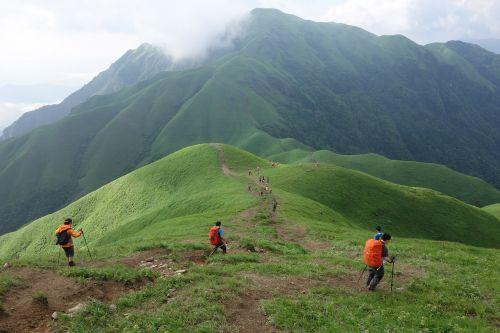 wugongshan mountains the hiker