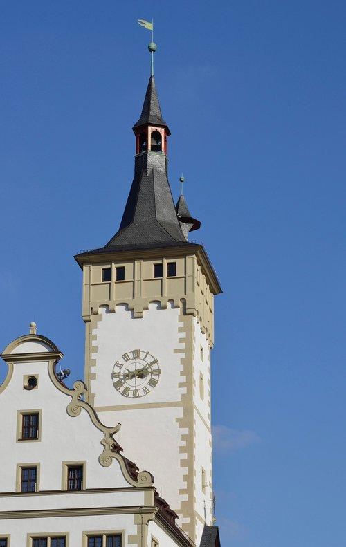 würzburg  town hall  historically