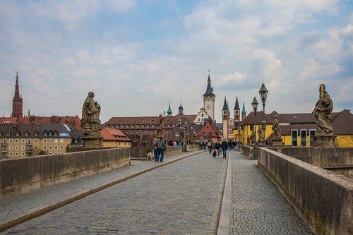 würzburg  historic center  swiss francs