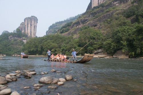 wuyishan jiuquxi raft