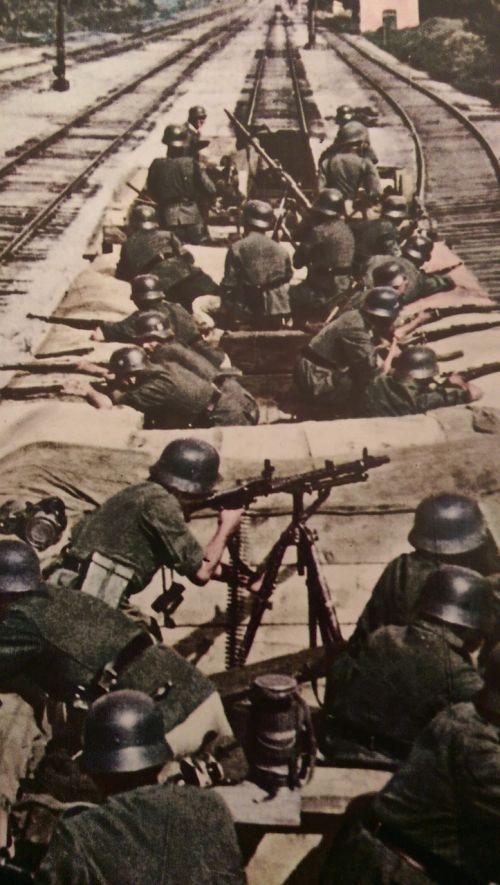 ww2 war guns