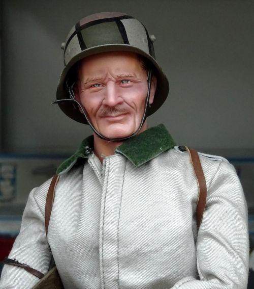 WW2 Model German Soldier