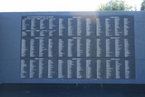 WWII Wall Of Remembrance