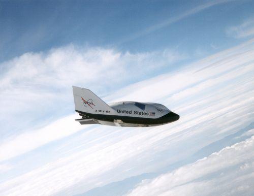 x-38 space vehicle flight