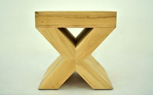x-ray oak stool oak fiber