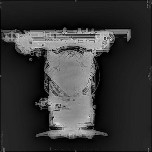 x-ray digital cinema camera head