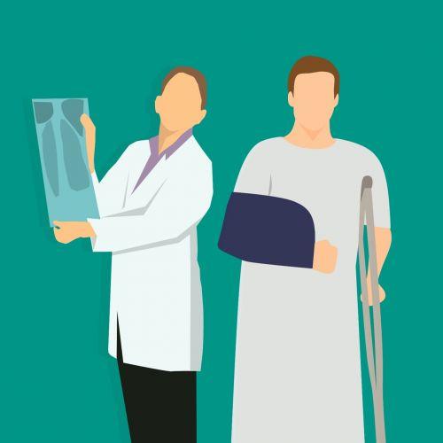 x-ray doctor woman