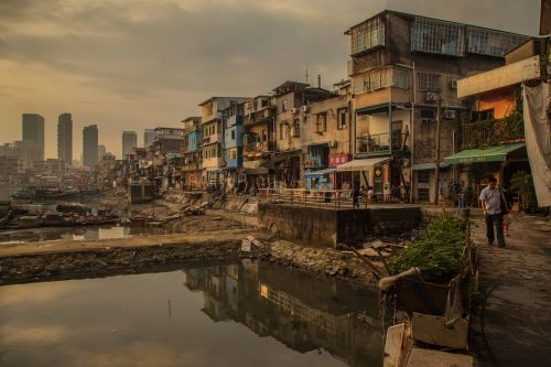 xiamen slum dwellers street photography