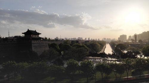 xi'an the city walls city gate