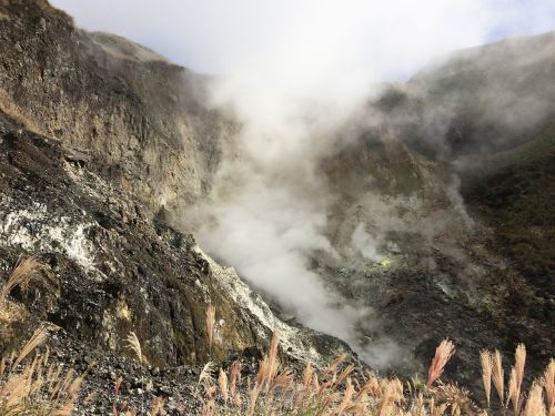 xiao youkeng,wikiproject Taivanas,taipei,kalnas,debesys,vista,Miscanthus,vulkanas,qixingshan,Taivanas