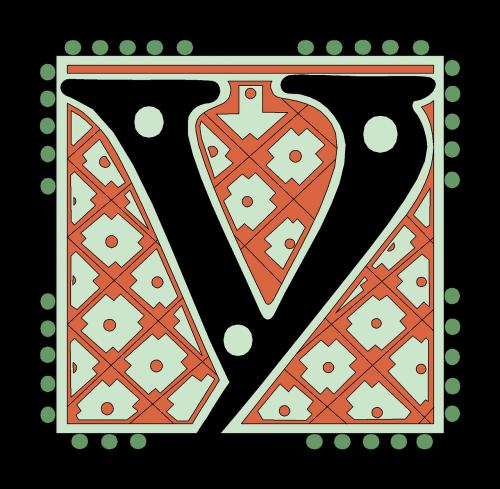 y alphabet vintage
