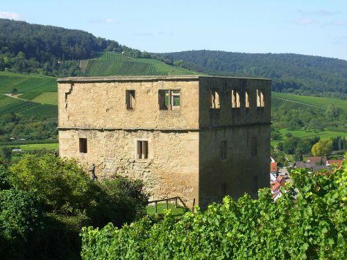 y castle ruin castle