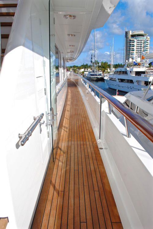 yacht yacht deck starboard