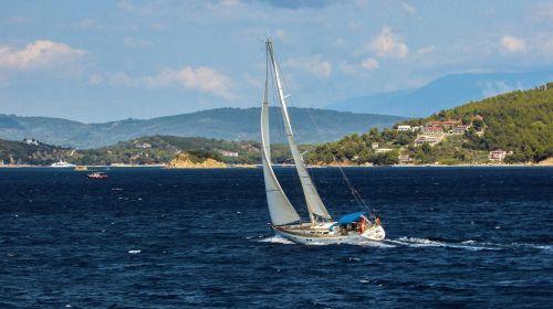 jachta,buriavimas,jūra,valtis,vasara,atostogos,šventė,turizmas,laisvalaikis,slidinėjimas,Graikija