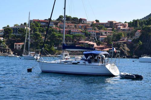 yacht sea france