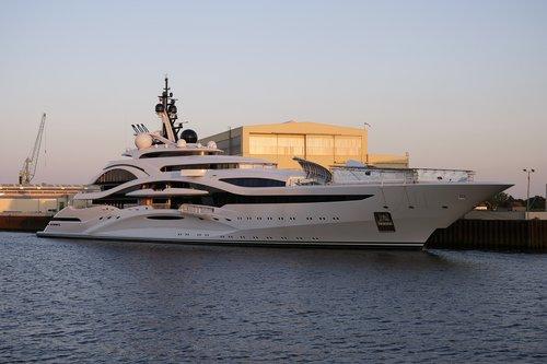 yacht  shipyard  ship